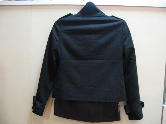 GAP COAT BLACK