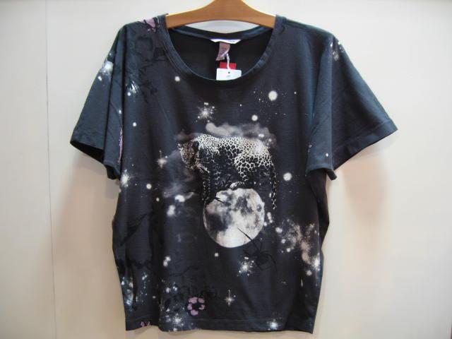H&M 豹プリントTシャツ