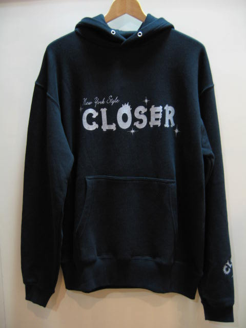 CLOSER LOGO PARKA BLACK L