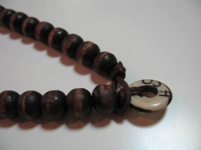 HOLLISTER WOOD NECKLACE