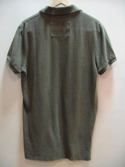 AEM0909-9-1 アメリカン イーグル ポロシャツ カーキ サイズM