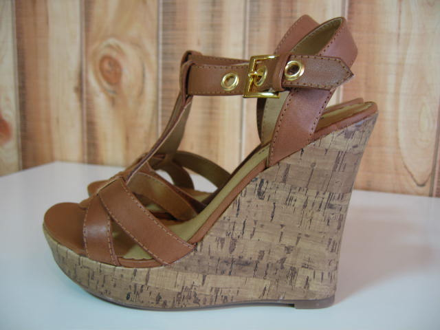 CLASSIFIED COUPON WEDGES TAN SIZE US6 CGL-1003-29-5