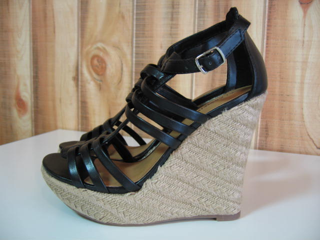 CGL-1003-3-5 BLACK SIZE6 CLASSIFIED CONE WEDGES