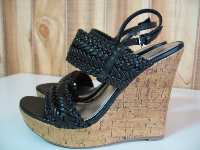 CLASSIFIED ISABIS WEDGES BLACK SIZE 6 CGL-1003-1-5
