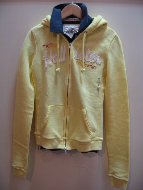 HOLLISTER ZIP UP PARKA / POLO SHIRT