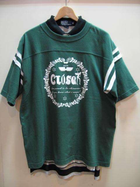 クローサー ローズラインTシャツ