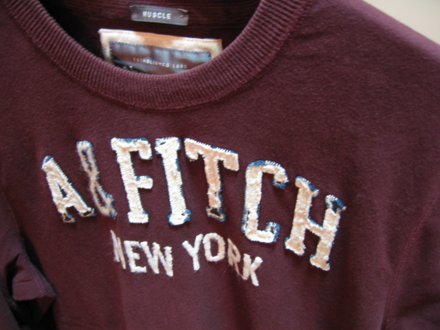 ABERCROMBIE & FITCH メンズ長袖T