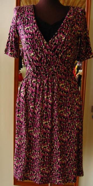 H&M Vネックドレス