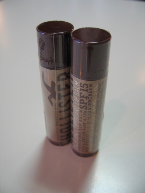 HOLLISTER LIP BALM