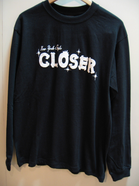 CLOSER LONG SLEEVES T-SHIRT