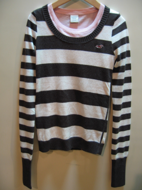 HOLLISTER STRIPE SWEATER