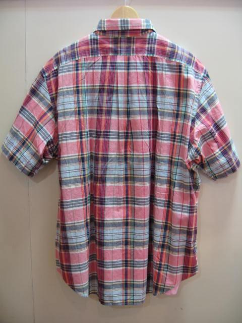 ラルフ チェック 半袖 シャツ