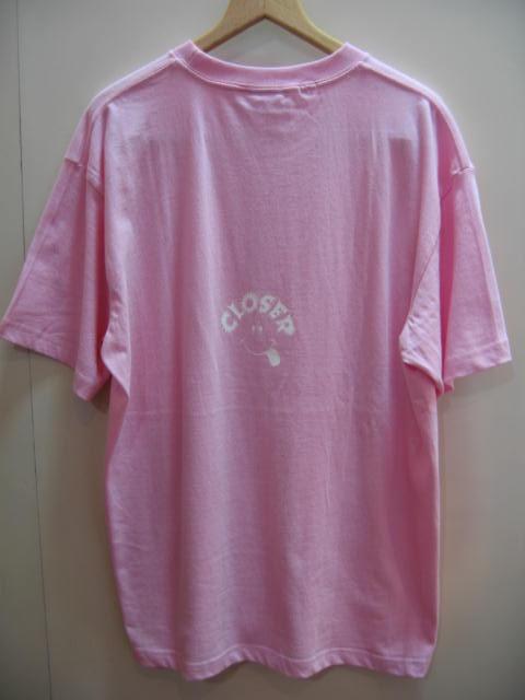 クローサー ロゴ Tシャツ ピンク