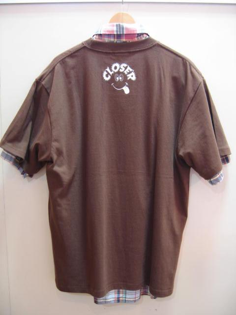 クローサー プクプクロゴ Tシャツ