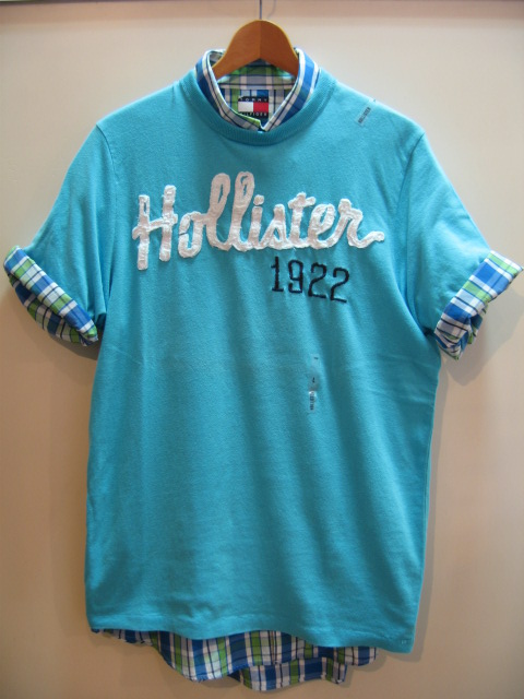 HOLLISTER MENS LOGO T-SHIRT
