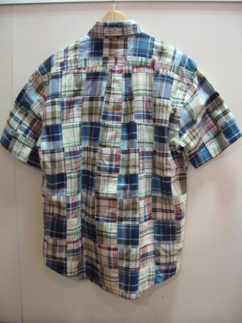 トミー ヒルフィガー メンズ チェック 半袖シャツ