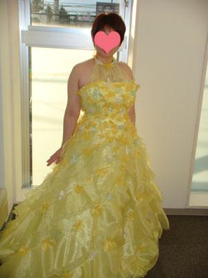 黄色は似合う色の一色です(´∀`*)
