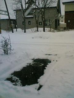 3月3日…大雪。