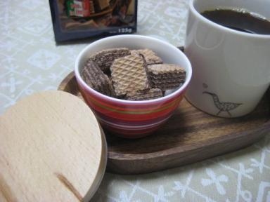 クワドラティーニとコーヒー