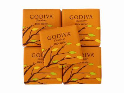 GODIVA--カレ ミルクウエハース。