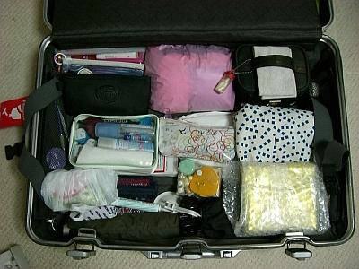 スーツケース・下側