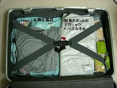 スーツケース・上側