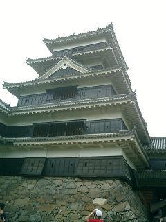 松本城 近接