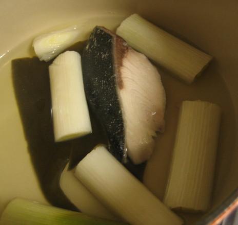 ブリの酒蒸し煮鍋