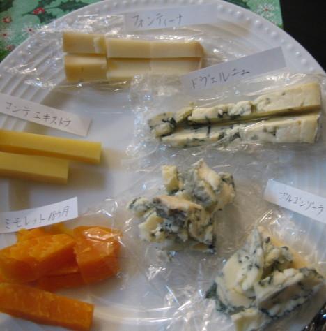 チーズ盛り合わせ2