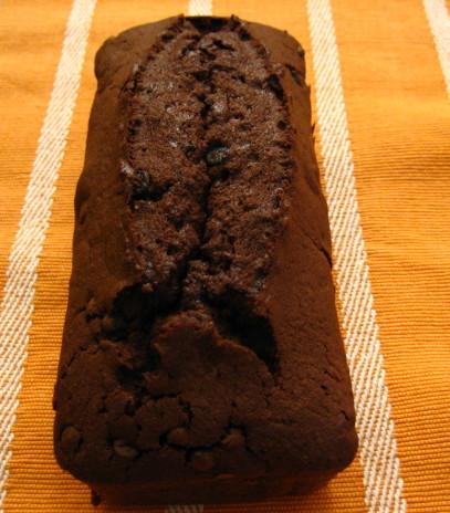 ダブルチョコのパウンドケーキ