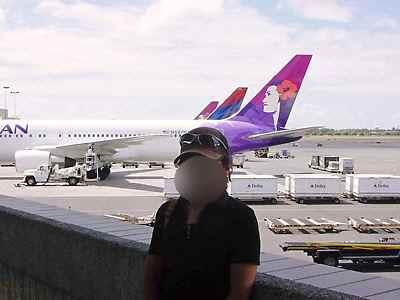 ハワイ帰国