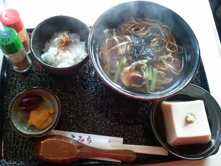 2011/11/27 山菜そばセット