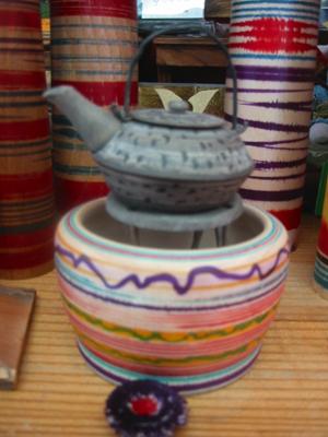 木地玩具・火鉢と鉄瓶