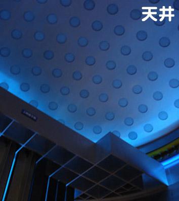 原子力発電コーナーの天井