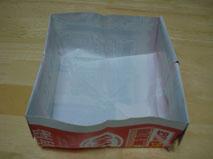 広告で作った箱