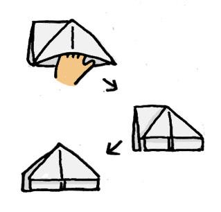 チラシゴミ箱の作り方2