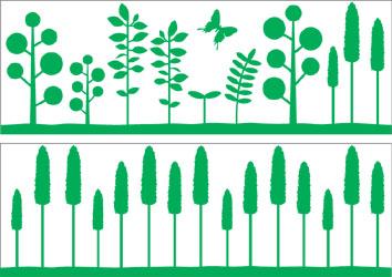 デザイン 植物