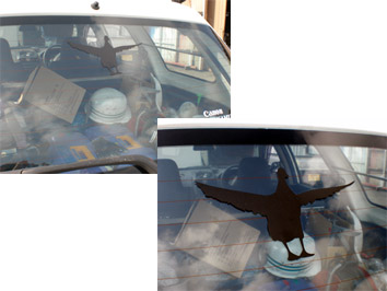 カモ 熱血さんの車