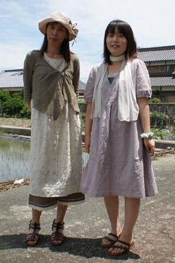 ミーシャの服 二人で