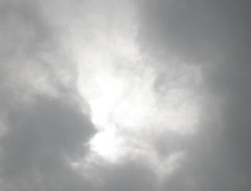皆既日食 11時45分頃