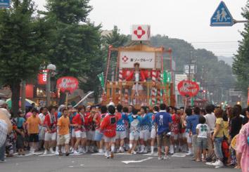 神輿 東ソーグループ