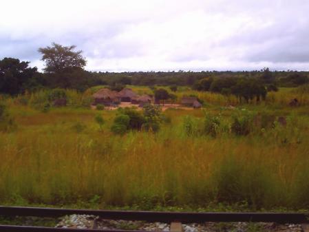 タンザン列車の窓から3