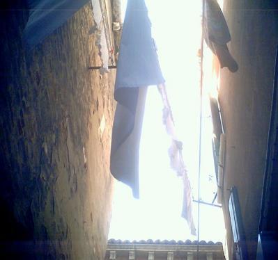 ヴェネチアの洗濯物