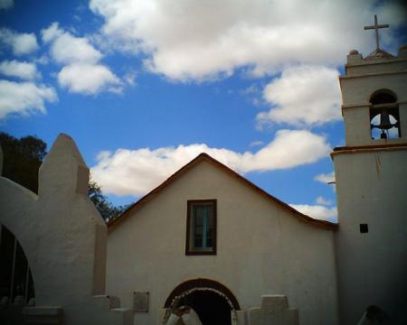 アタカマ村の教会