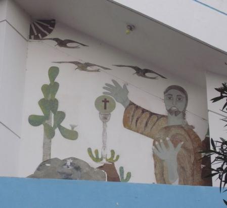 ガラパゴスの教会