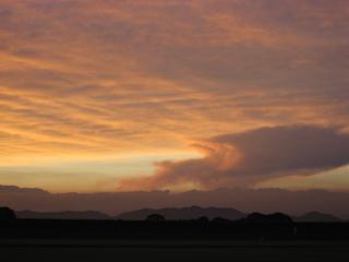 火山風な雲