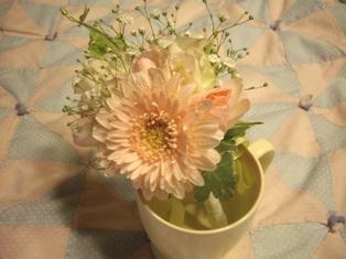 生花のコサージュ♪