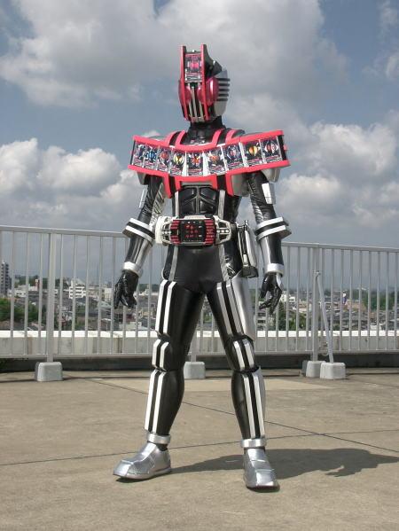 仮面ライダーディケイド コンプリートフォーム全身画像