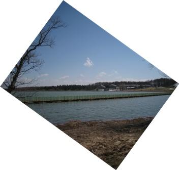 日本一長い?浮橋