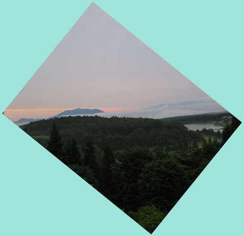 今朝の飯綱東高原